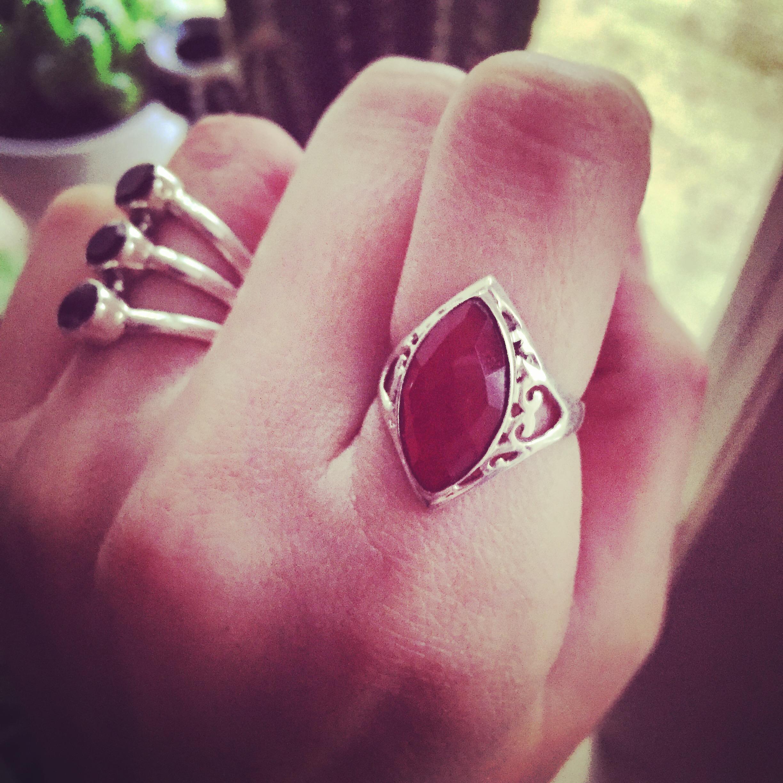 Carnelian 925 Sterling Silver Ring