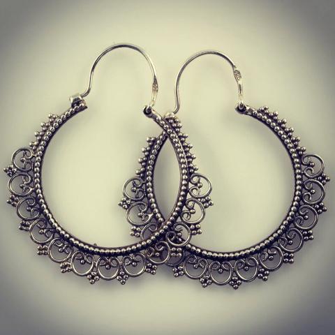 Smoky Quartz 925 Sterling Silver Earrings