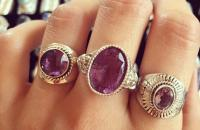 Amethyst 925 Sterling Silver Rings