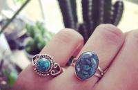 Azurite 925 Sterling Silver Ring