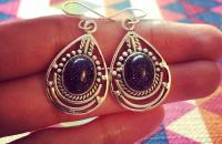 Blue Sun Sitara 925 Sterling Silver Earrings