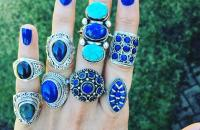 Lapis 925 Sterling Silver Rings