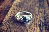 Lolite 925 Sterling Silver Ring