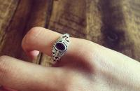 Lolite 925 Sterling Silver Ring