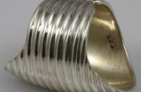 Singles plain silver ring
